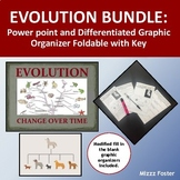 Evolution Bundle: Power Point and Differentiated Graphic Organizer Foldable