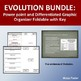 Evolution Bundle: Power Point and Graphic Organizer Foldab