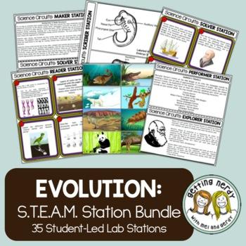 Evolution Bundle - Science Centers / Lab Stations