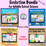 Evolution Bundle for NGSS Middle School and Utah SEEd 7th Grade
