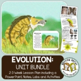 Evolution, Natural Selection, & Adaptation - PowerPoint & Handouts Unit