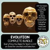 Evolution - PowerPoint, Handouts, INB, Task Cards, Word Wall
