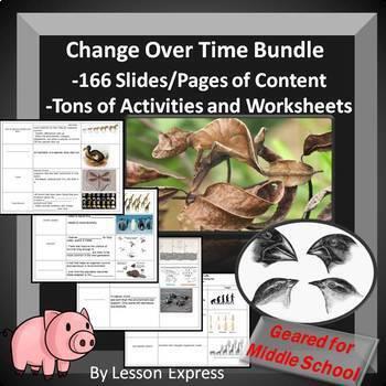 Evolution Change Over Time Bundle