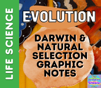 Evolution: Charles Darwin and Natural Selection Doodle Notes! NGSS aligned