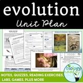 Evolution Unit Bundle- Distance Learning