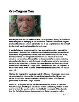 Evolution: Cro-Magnon Man