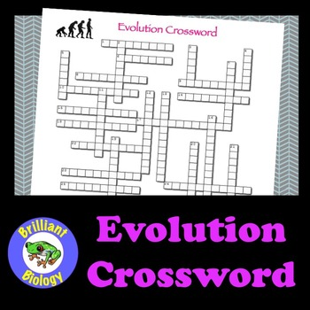 Evolution Crossword Puzzle