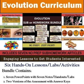 Evolution Lesson Plans