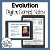 Evolution Digital Biology Notes - Natural Selection - Dist