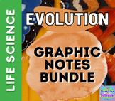 BIOLOGY: Evolution Graphic Notes Bundle! (INB or Mini-Anch