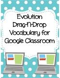 Evolution Drag-n-Drop Vocab for Distance Learning
