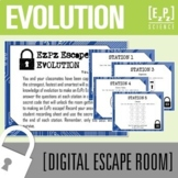 Evolution Science Escape Room