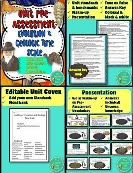 Evolution & Geologic Time Scale Unit Bundle