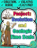 Evolution & Natural Selection Project   Biology Science Unit