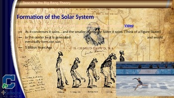 Evolution Introduction - The formation of the Universe, solar system, & Earth
