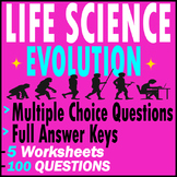 Evolution | Life Science | 100 Questions [MCQs] | 5 Tests | Grade 7