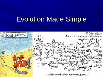 Evolution Natural Selection Made Simple