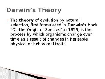 Evolution Notes