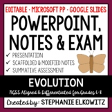 Evolution and Natural Selection PowerPoint, Notes & Exam - Google Slides