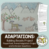 Adaptations of Animals Project for Evolution - Distance Learning