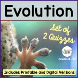 Evolution Quiz Set of 2