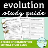 Evolution Study Guide