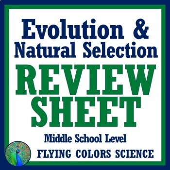 Evolution Review (middle) NGSS MS-LS4-1 MS-LS4-2 MS-LS4-3 MS-LS4-4 MS-LS4-6