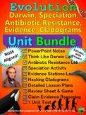Evolution Unit Bundle - NGSS Aligned