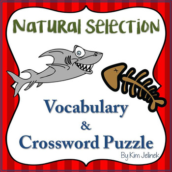 Natural Selection Vocabulary and Crossword Puzzle
