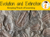 Evolution and Extinction Student Learning Objectives