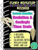 Evolution & Natural Selection Science Notebook Bundle