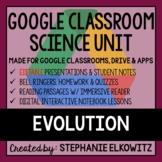 Evolution and Natural Selection Google Classroom Lesson Bundle