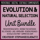 Evolution and Natural Selection Unit Bundle