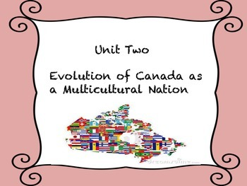 Evolution of Canada as a Multicultural Nation