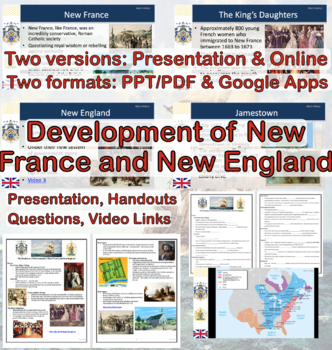 Evolution of Government in New France and New England