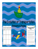Evolution of Transportation