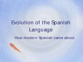 Evolution of the Spanish language