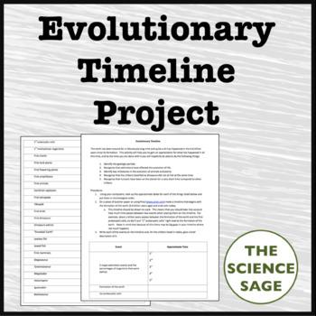 Evolutionary Timeline Project