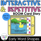 Repetitive & Interactive Boom Card Story for Speech Therapy l Ew! It's Poo!