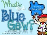 EW & UE Phonics Unit! -Blue Gew Fun!