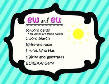 Ew and EU spelling activities