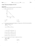 Exact Triangles & Sine Law QUIZ