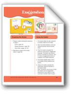 Exaggerations (File Folder Center)