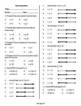 Exam Algebraic Inequalities