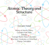 Exam- Atomic Theory and Structure
