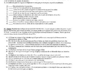 Exam: French Film The Butterfly Bien Dit 2® / Bien Dit 3®