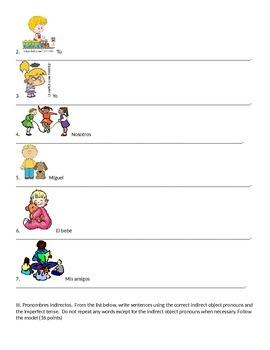 Exam Realidades 2 4a