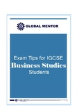Exam Tips for IGCSE Business Studies Students