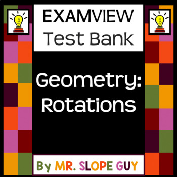 Transformations Rotations ExamView Test Bank Geometry Go Math