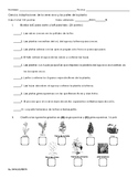 Examen Adaptaciones de las plantas y partes de la planta Unidad 4.1